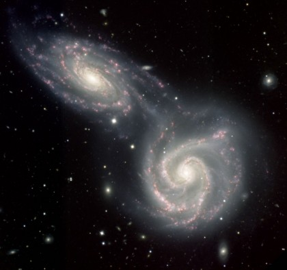 Андромеда уничтожит нашу галактику