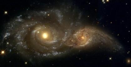 Сталкивающиеся галактики