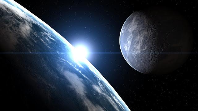 Планета, спутник и звезда