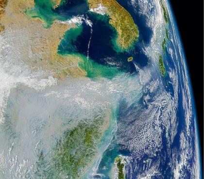 Загрязнение: от Китая к масштабам планеты