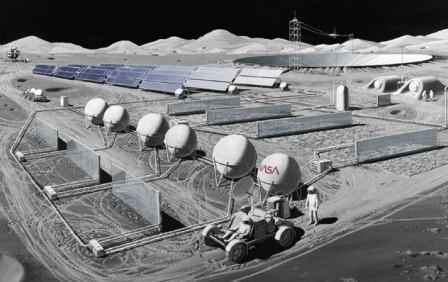 Рудники на Луне