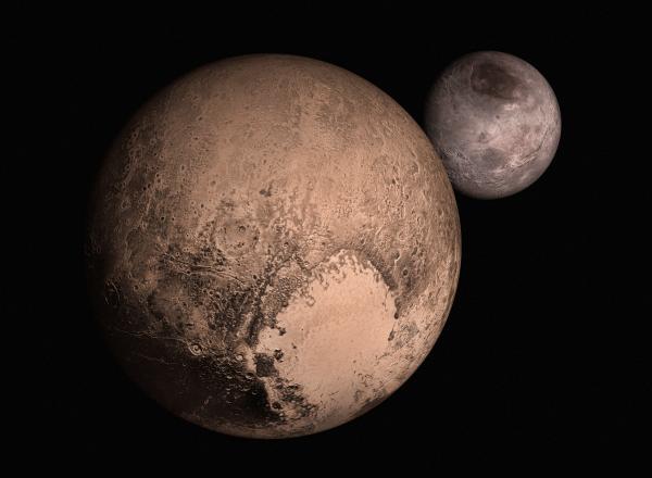 Воздух Плутона оказался холодным