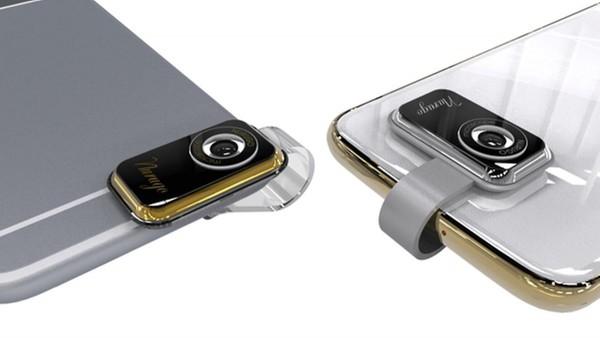 Мини-микроскоп в телефоне