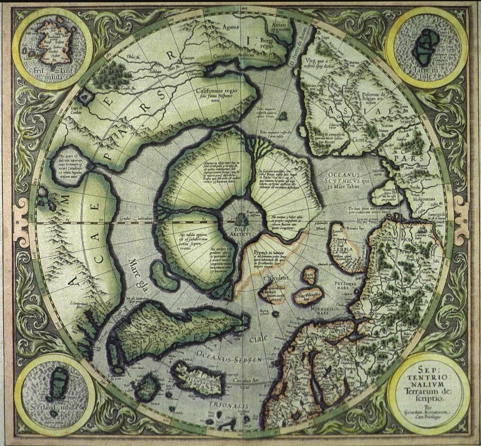 В Арктике существовал огромный материк