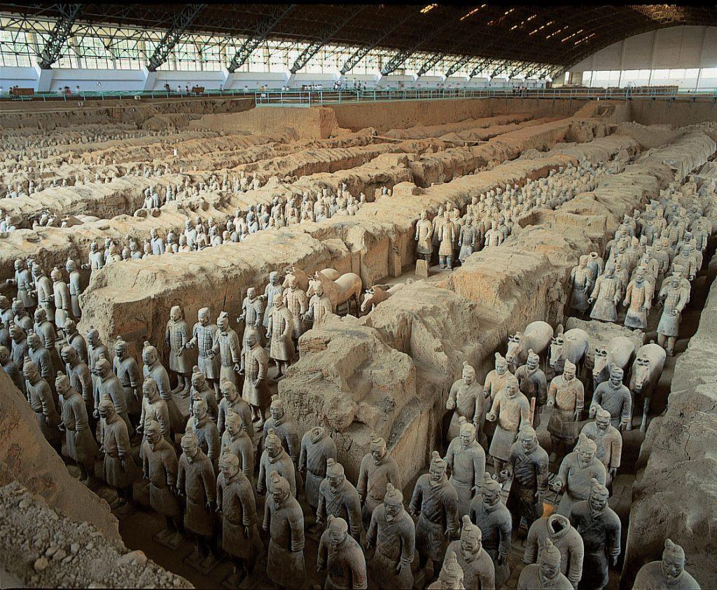 Гробница Императора Цинь Шихуанди