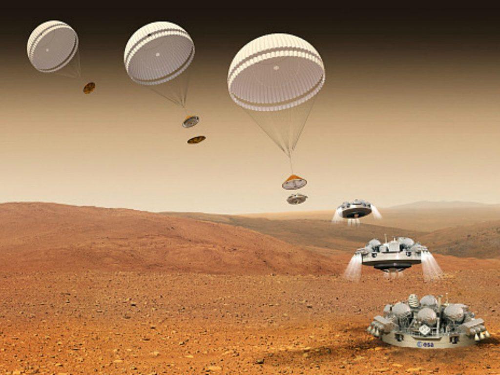 """Жесткая посадка на Марс: конец миссии """"Скиапарелли"""""""