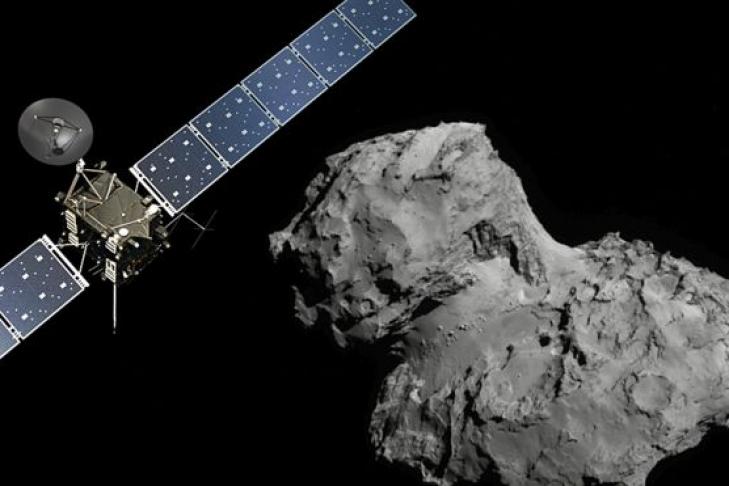 """""""Розетта"""": посадка на комету"""