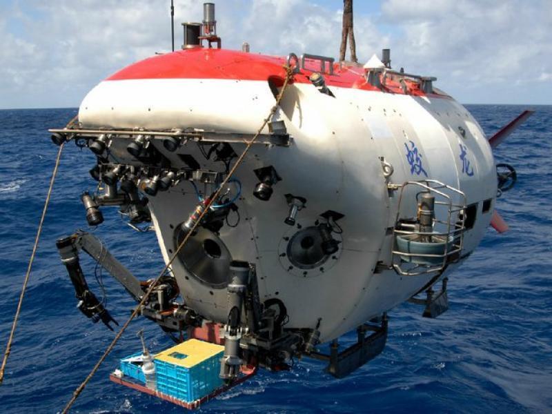 Подводные аппараты для освоения морских глубин