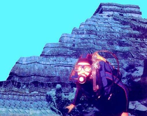 Пирамиды озера Рок