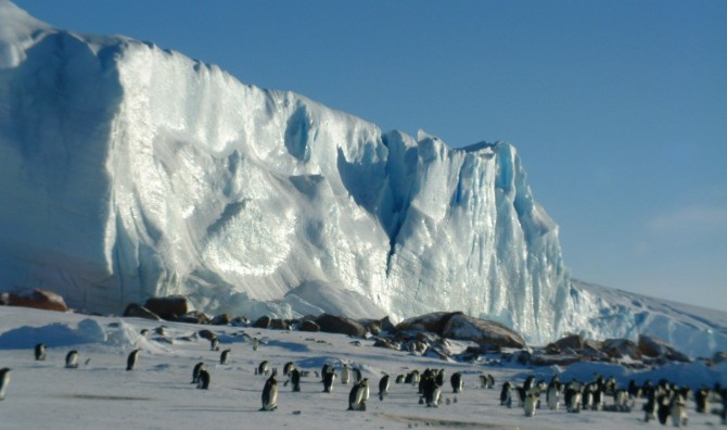 Откуда взялся лед в Антарктиде?