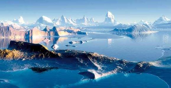Льды и течения в Антарктиде