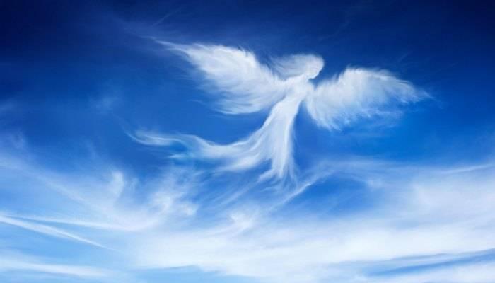 Странные изображения на небе
