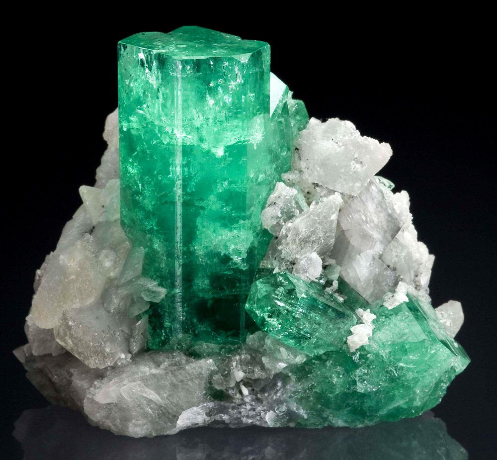 Берилл зеленый