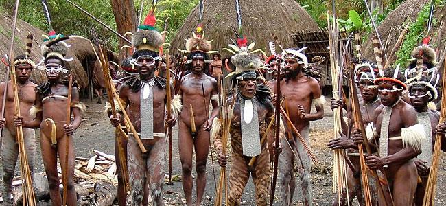 Племя яли - неисправимые каннибалы