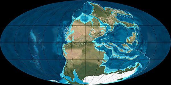 Пермский период на Земле