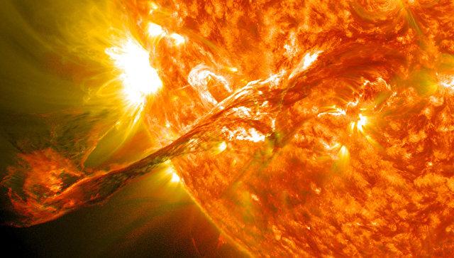 Солнечные вспышки - как они влияют на нас