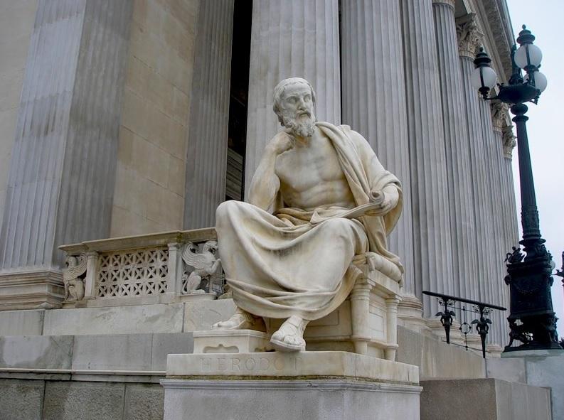 Путешествие и открытия Геродота - Странствия по ойкумене