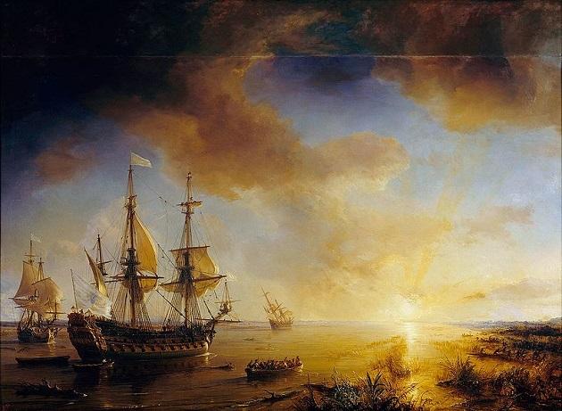 Ла Саль - Приключения французов на Миссисипи