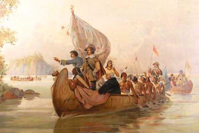 Самюэль Шамплен - Путешествия «отца Новой Франции»