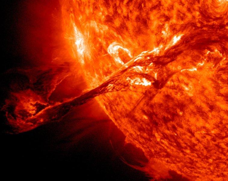 Процессы происходящие на Солнце