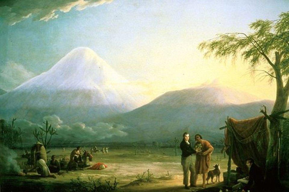 Гумбольдт и Бонплан в Южной Америке