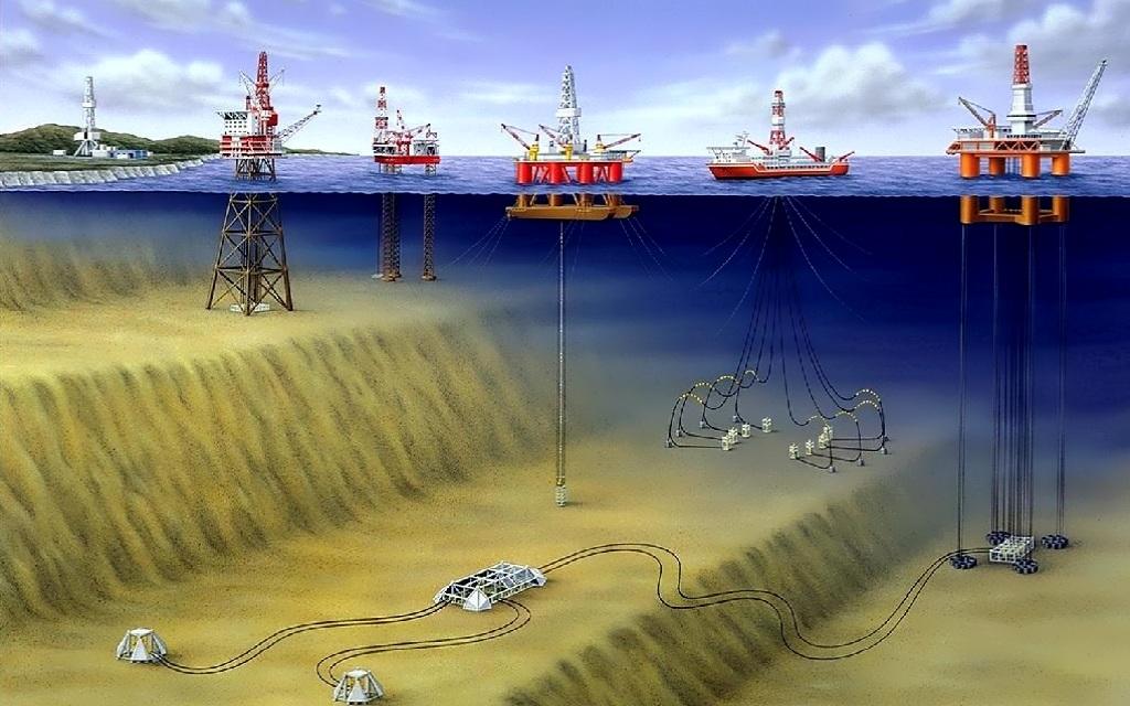 Как устроена нефтяная платформа