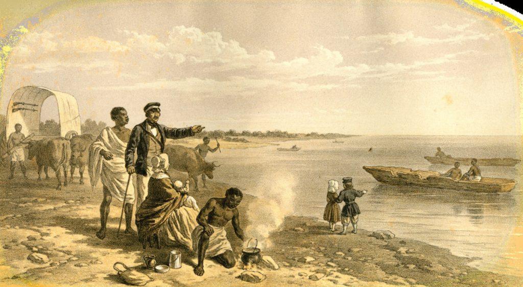 Дэвид Ливингстон и Генри Стэнли: путешествие в поисках истоков Нила
