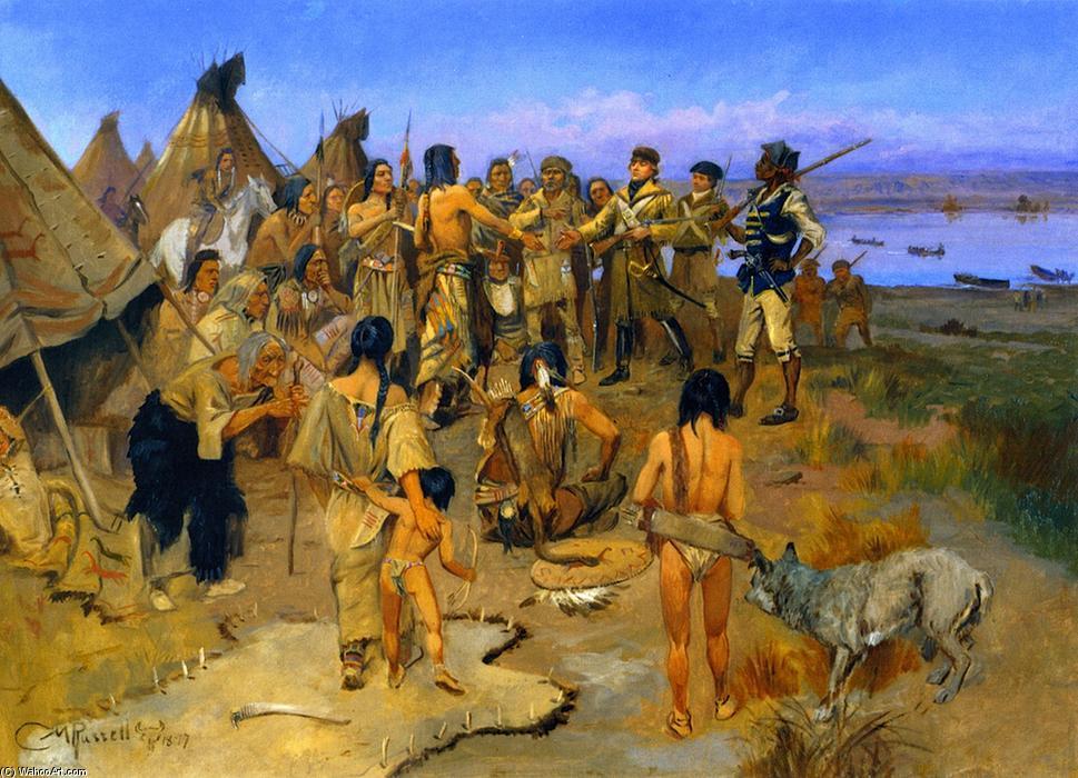 Льюис и Кларк — Путешествие к Тихому океану