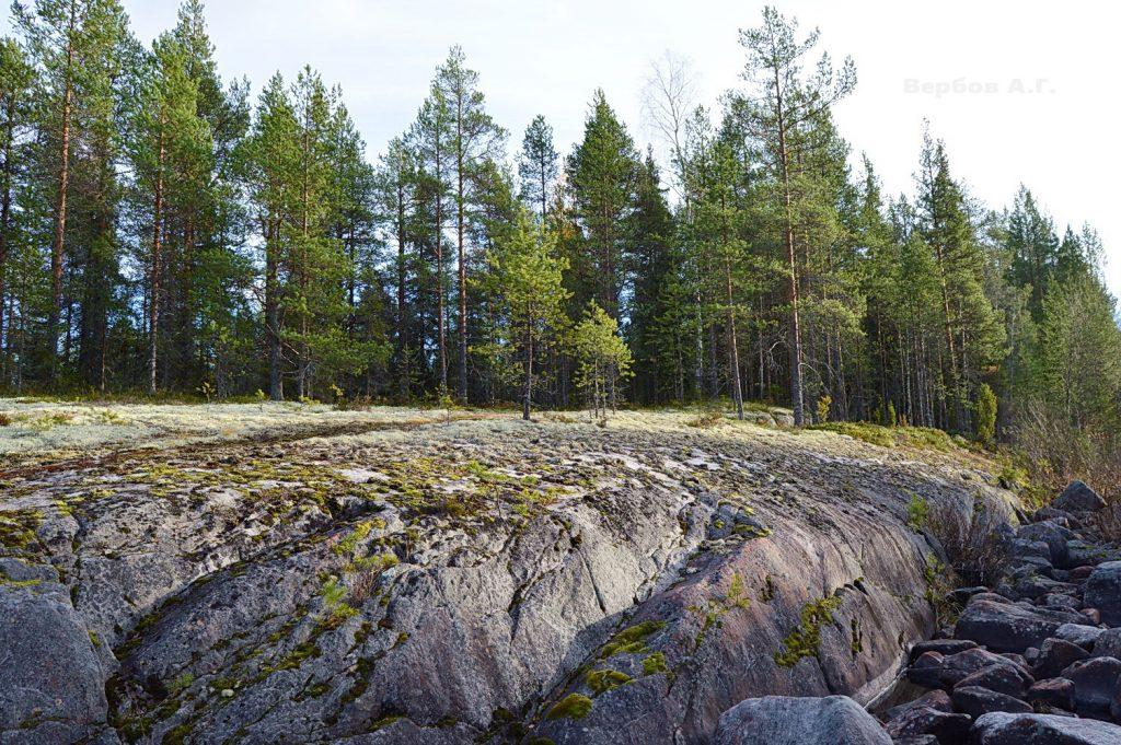 Разрушение гранита в природе