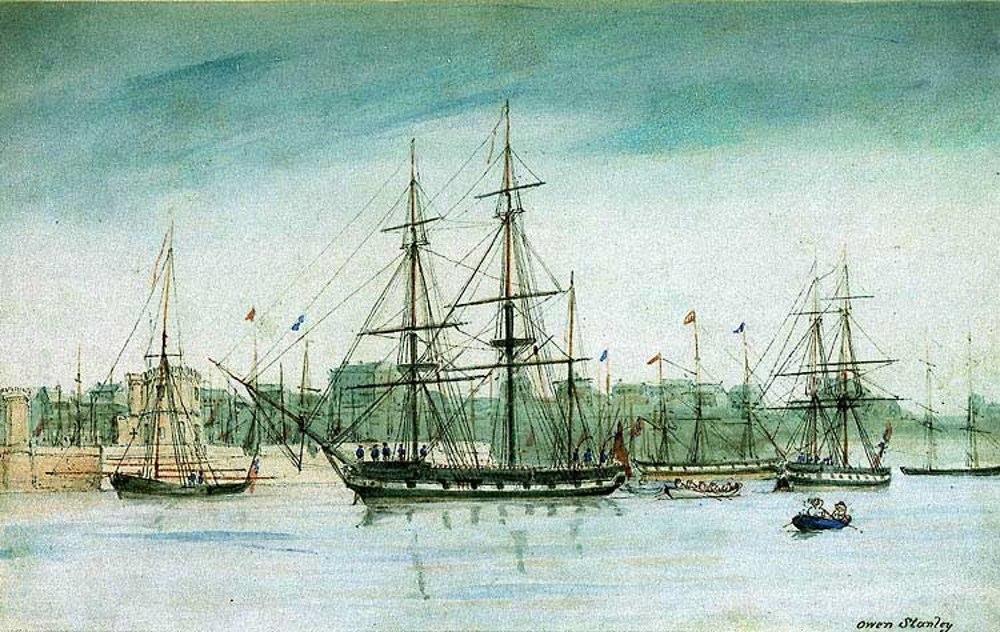 Чарльз Дарвин — Кругосветное путешествие на корабле «Бигль»