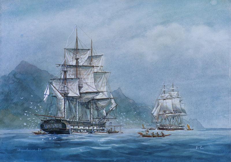 Экспедиция Беллинсгаузена и Лазарева