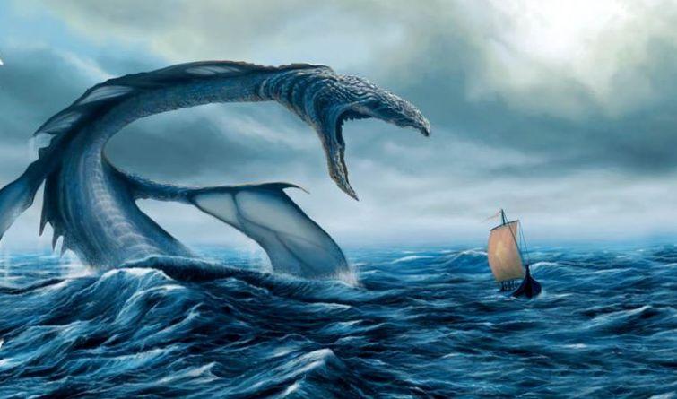 Гигантский монстр в Черном море