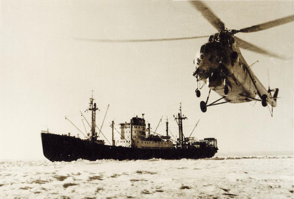 Первые советские антарктические экспедиции