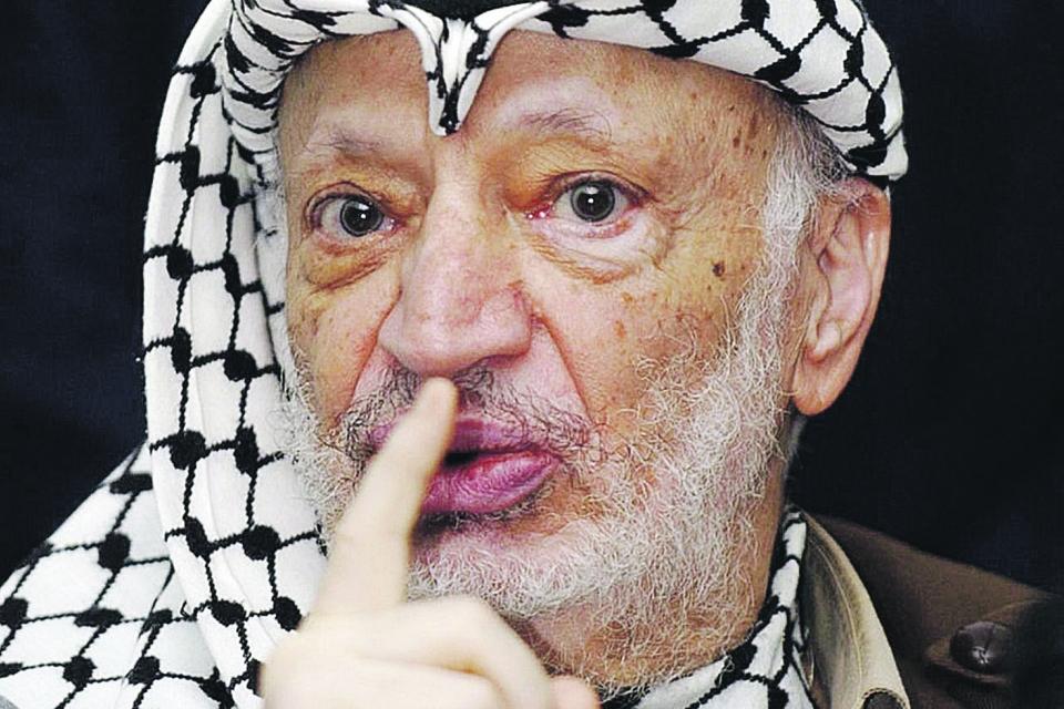 Ясира Арафата отравили полонием