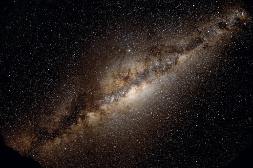 Млечный Путь: размеры и состав