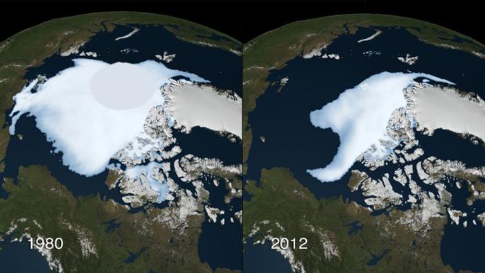 Таяние полярных льдов - грядет ли всемирный потоп?