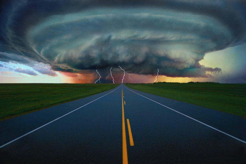 Ураганы, циклоны, торнадо