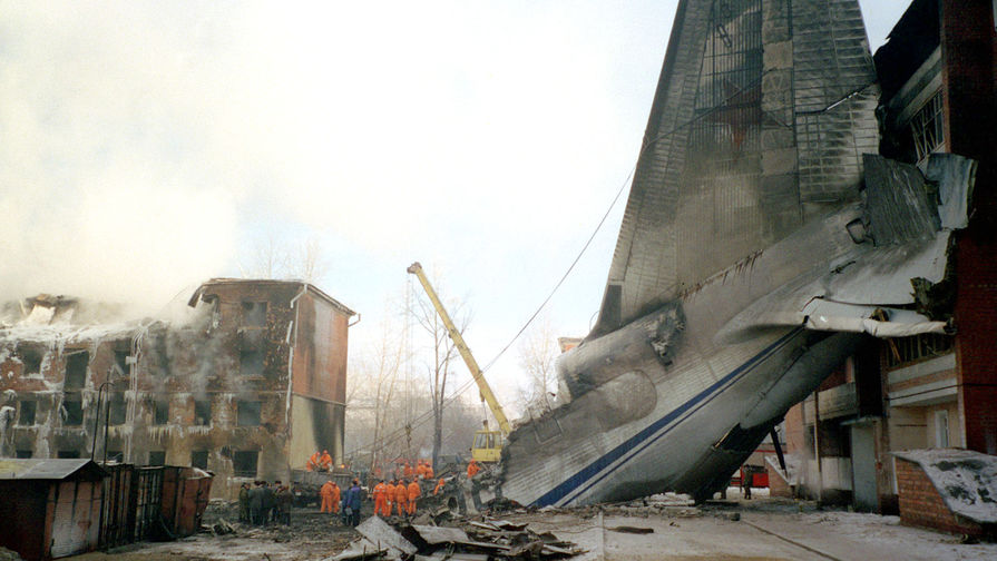 Катастрофа самолета Ан-124 «Руслан» в Иркутске