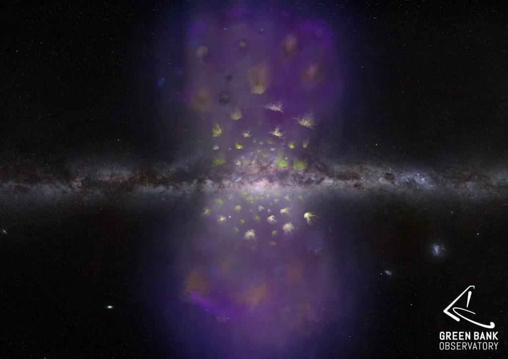 Пузыри Ферми - гигантская загадка нашей галактики