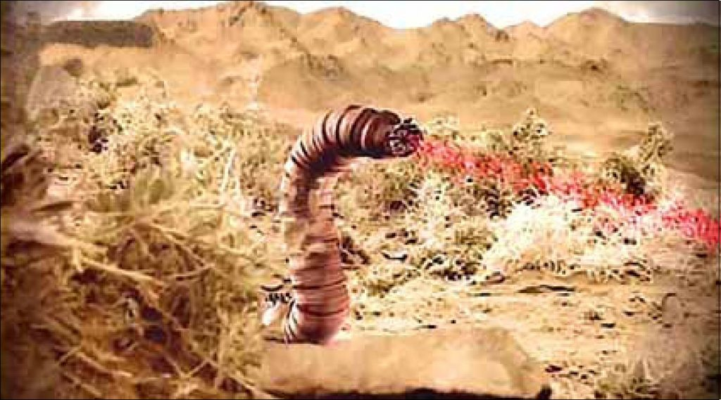Монгольский червь смерти