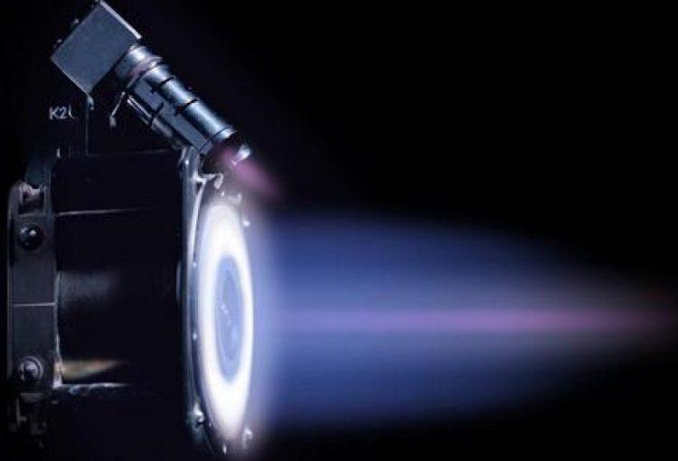 Ионный двигатель для низких орбит