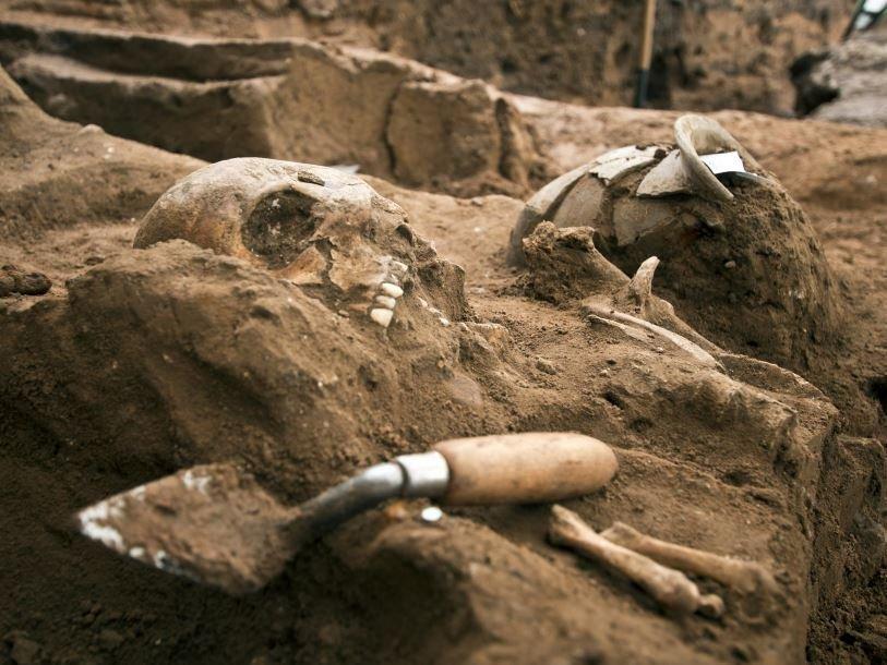 Римский некрополь в Йорке