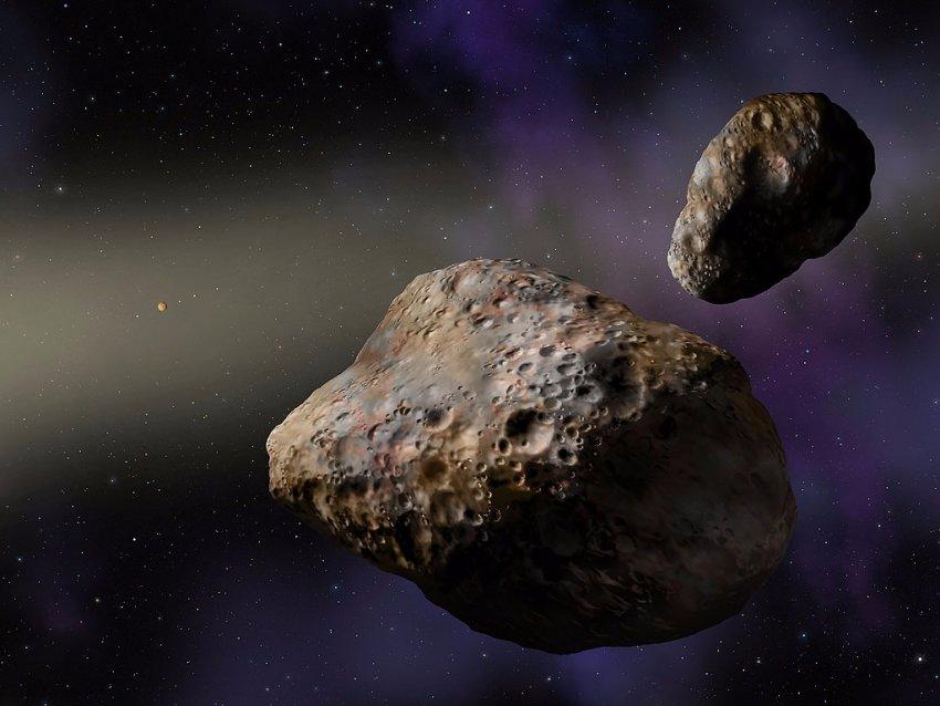Открыт двойной астероид