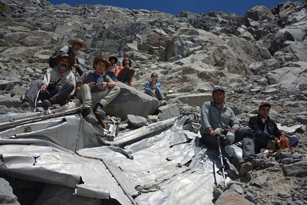 В Чили найдены следы авиакатастрофы полувековой давности