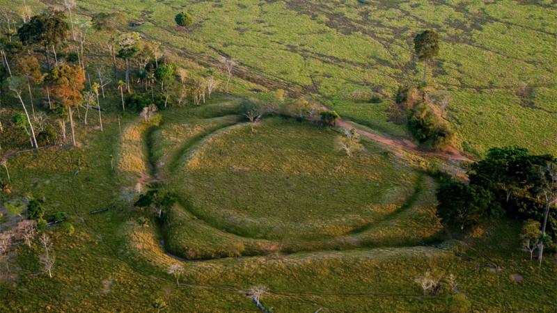 В Амазонии обнаружили геоглифы