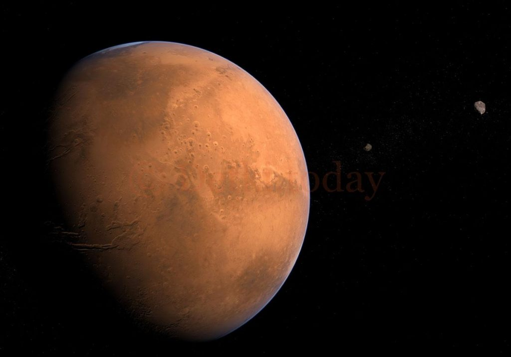 Загадочные вспышки на Марсе