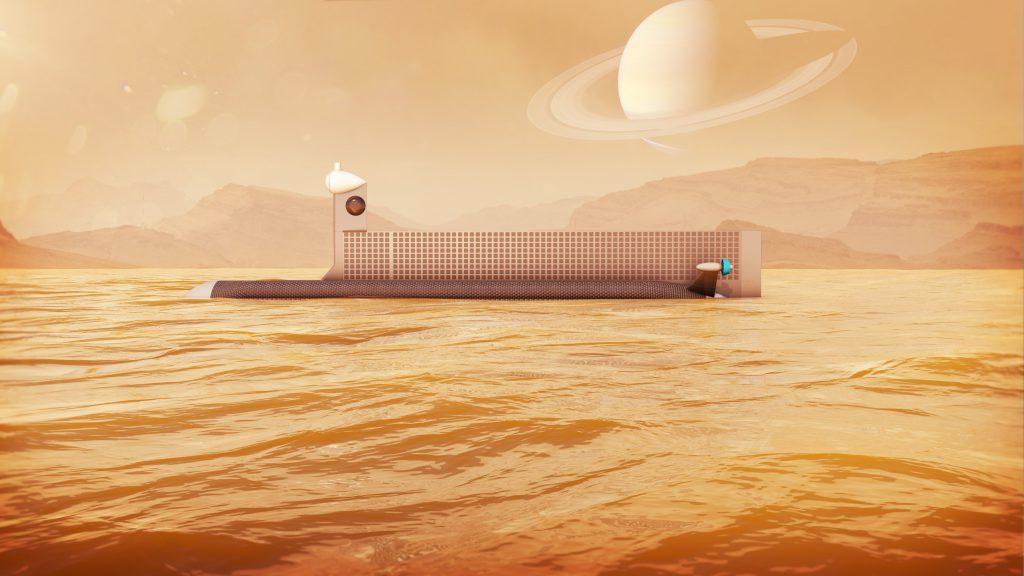 Атомная субмарина в море Кракена