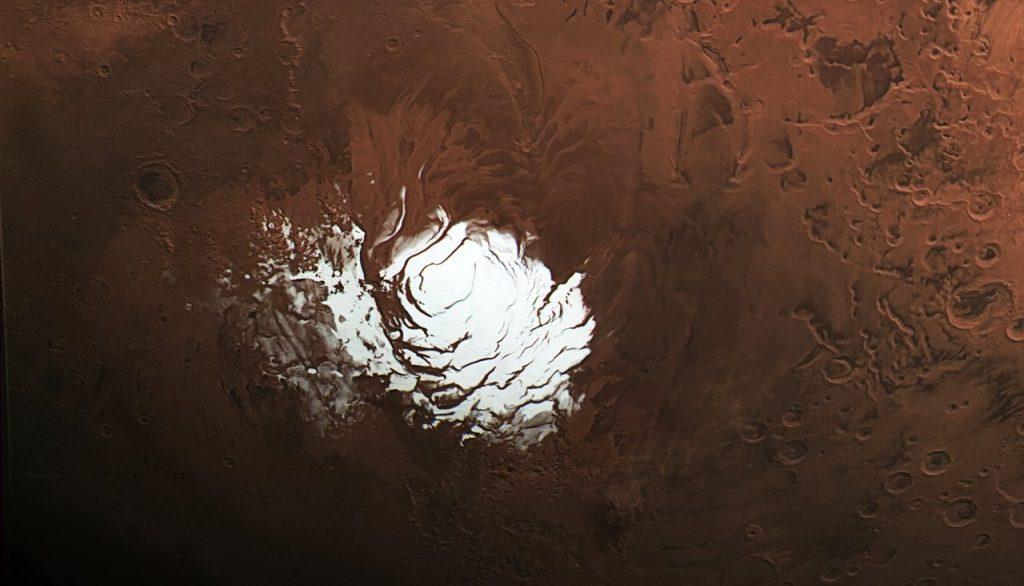 Озеро на Марсе