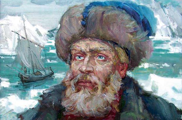Семен Дежнёв: открытие пролива между  Евразией и Америкой