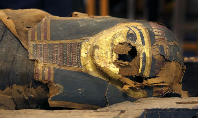 Скрытые письмена на саркофаге